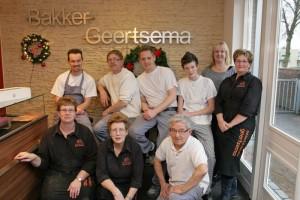 Ons team van Bakkerij Geertsema